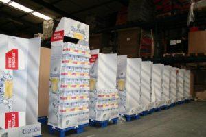 stockage de produits alcoolisés